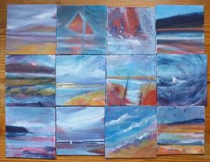 acrylic tiles