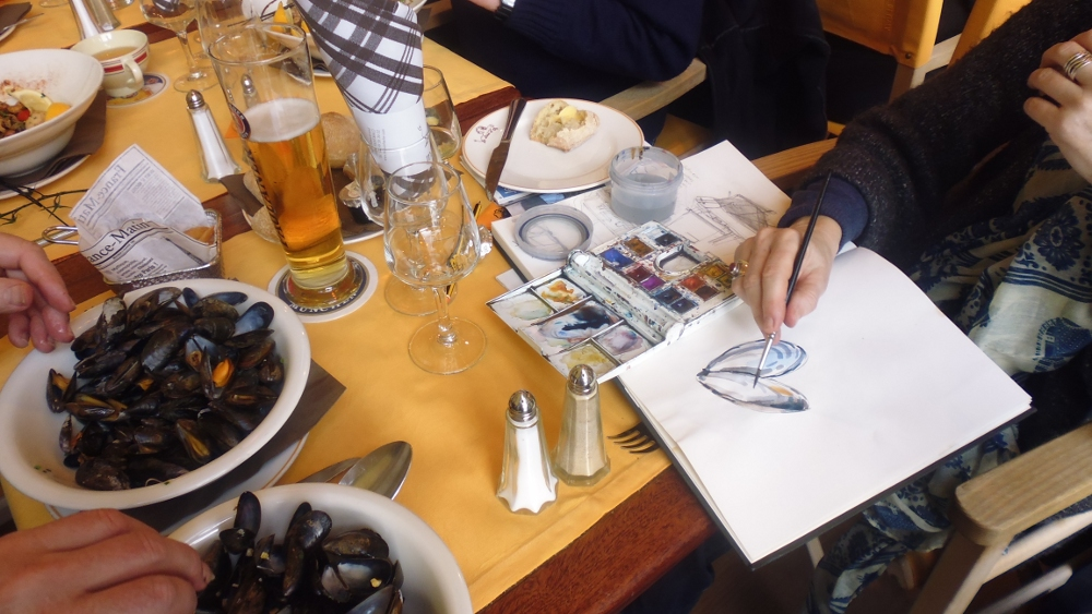 sketching moules