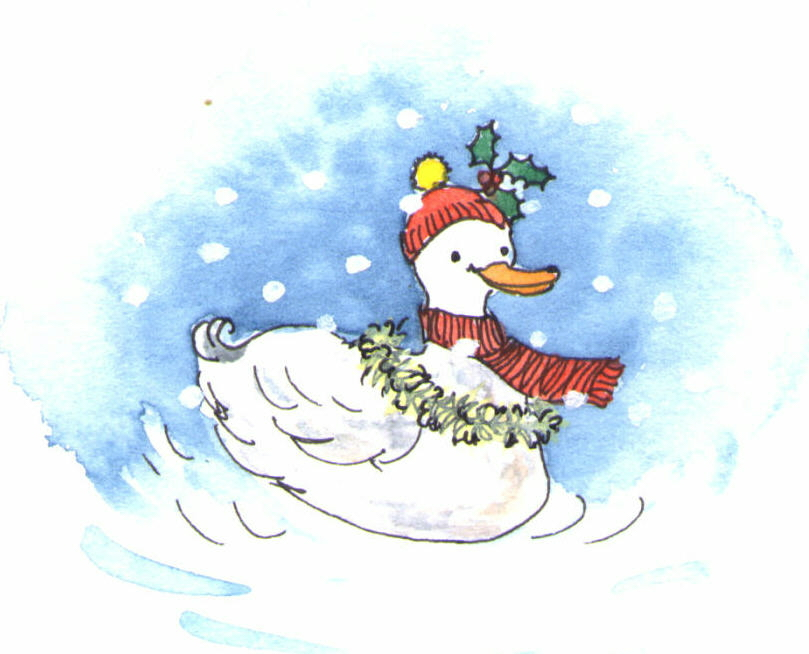 christmas quacker