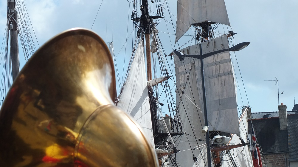brass and sail