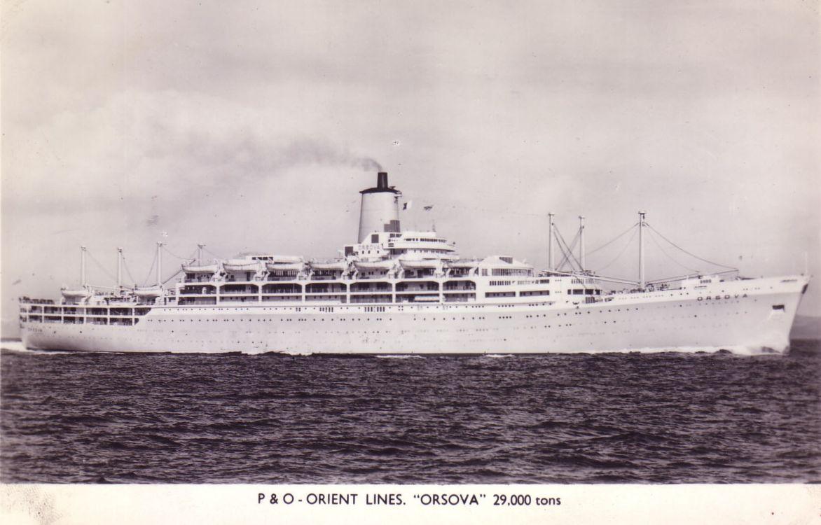 Orsova Postcard