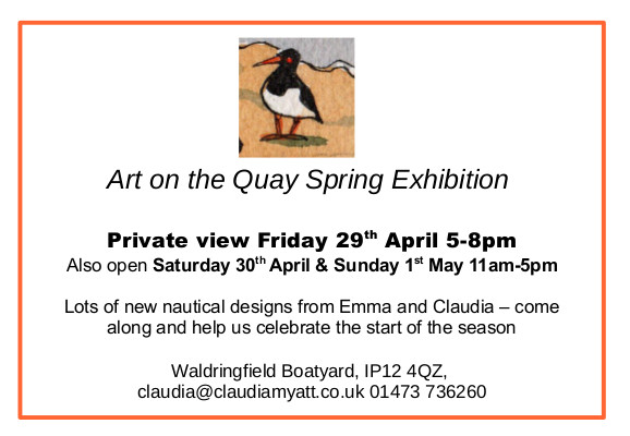 spring exhibition invites 2016